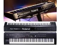 ROLAND RD 700 GX STAGE PIANO WITH STAND
