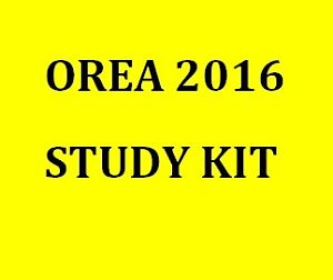 2016 OREA STUDY GUIDE - EXAMS & MORE London Ontario image 1