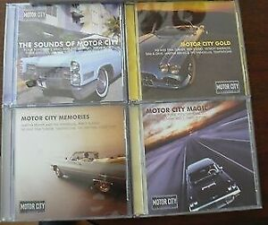 Sounds of the Motor City 4 cds-Excellent condition-$10 lot