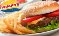 HIRING SERVERS URGENTLY - WIMPY'S DINER AJAX