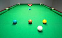 """SNOOKER"" THURSDAY NIGHT MEN'S & WOMAN'S HOUSE LEAGUE"