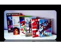 JIM CARREY FILMS - 6 TITLES - DVDs/VHS TAPES - FOR SALE