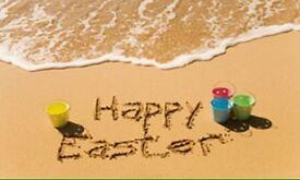 Easter bookings now being taken