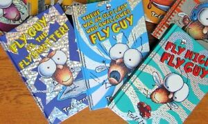 """"""""""" FLY GUY """"""""  8 Hardcover Books. by Tedd ARNOLD"""