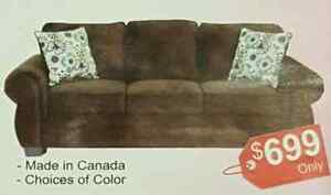 BRAND NEW CANADIAN MADE SOFAS!!!