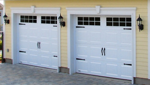 CLEARANCE on in stock Garage Doors. 9x8 and 12x6'9""