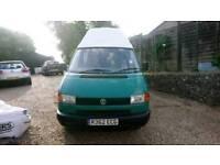 1997 Green Volkswagen Transporter T4 Special Camper Van