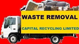 BEST PRICE ALL LONDON RUBBISH REMOVAL BUILDER WASTE COLLECTION JUNK DISPOSAL OFFICE HOUSE CLEARANCE