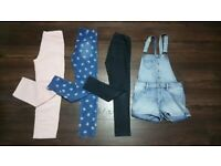 Bundle of girls clothes and shoes - age 7-9