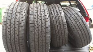 Set of 245/70R16  All Season Tires