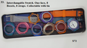 Assorted watches including Swatch