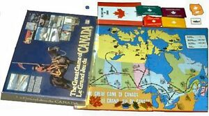The Great Game of Canada Board Game
