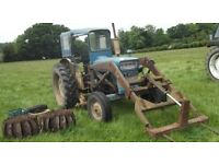 Ford 4000 with ARPS half trac system