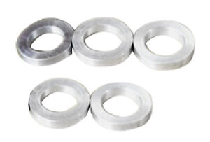 Origin8 Chainring Spacers Alloy 3.5Mm Silver Bag of 5