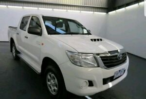 2013 Toyota Hilux KUN26R MY12 SR (4x4) 4 Speed Automatic Dual Cab Pick-up Moorebank Liverpool Area Preview