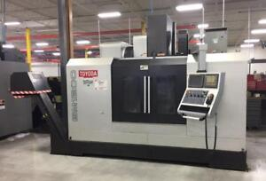 "47.2""X, 23.6""Y, 23.6""Z, TOYODA/AWEA, BM1200, 2007, CNC VERTICAL MACHINING CENTER"