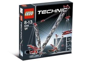 Lego Set # 8288 technic Crawler Crane  brand new retired
