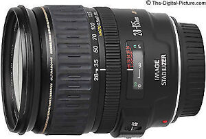 Canon EF 28-135mm f/3.5-5.6 IS Lens............