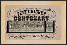 Test Cricket Centenary******1977 stamps Duncraig Joondalup Area Preview