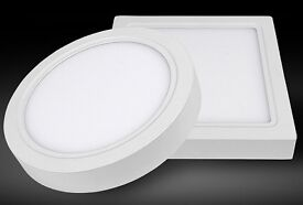LED surface Mount Panel Light 6w/12w/18w/24w cool white 6500K Ceiling panel