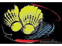 Badminton partner(s)