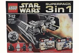 LEGO Star Wars 7667 7668 8017 Vader Tie Fighter Super Pack Rare