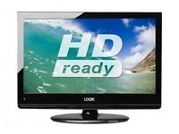 "26"" LOGIK TV LCD + DVD + WALL MOUNT"