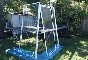 Shower Screen Bathroom White Pivot Door Excellent Condition Miami Gold Coast South Preview