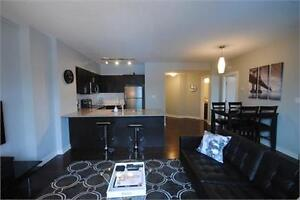 ICON TOWER! Fully furnished large 1 Bedroom suite downtown!!