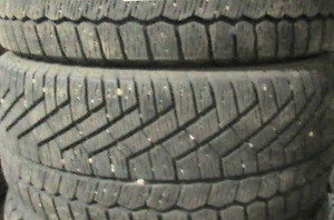 WINTER TIRES CONTINENTAL 235~45~17 INCH ~~~75-85%~~~2 of them