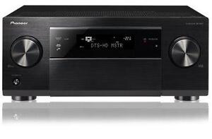 Pioneer 7.2 Channel 3D Ready Class D3 Home Theater Receiver. 160W x 7 HDMI. Ethernet. 7 Channel Amplifier. DLNA. AirPlay