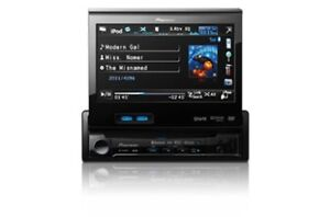 """Pioneer - Single Din (Pop-Up) 7"""" Touchscreen - Plays DVD"""