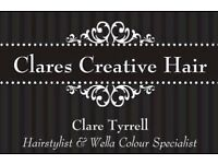 Ladies hairdressing based in Poringland