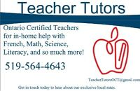 Ontario Certified Teachers at your service