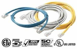 RJ45 LAN NETWORK CORD ETHERNET INTERNET 3-5-10-20-50 FEET CABLE