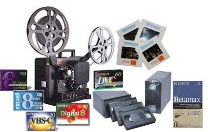 AUDIO / VIDEO TRANSFERS TO DVD / HARD DRIVE