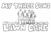 Hedge Trimming and Lawn Care by My Three Sons Lawn Care