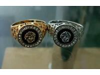 Versace Diamond Ring (not Gucci,moncler,Cartier,Rolex,iphone