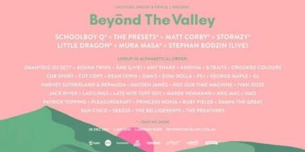 Beyond the Valley 2-day General Admission
