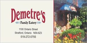 Permanent Full-time & Part-time Line Cook Stratford Kitchener Area image 1