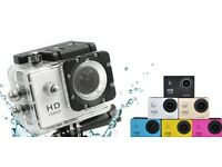 Full HD 1080p Sports Cam Waterproof 30m with accessories