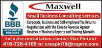 Taxes for Small Businesses