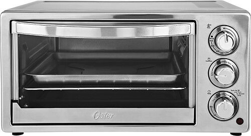 Oster 6-Slice Toaster Oven Stainless-Steel/Silver TSSTTVF816