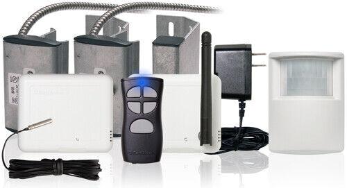 Control4 ZCA-SGP10A-2D-ZP Smart Garage Package Deluxe 2 Doors w/ Smart Lighting