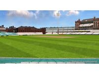 TWO SEATED TICKETS: Investec Test – England vs Pakistan (DAY 5) FINAL TEST MATCH at Kia Oval London.