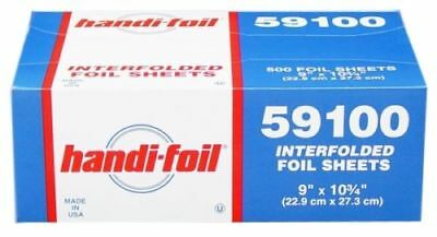 Hfa 9 X 10.75 Aluminum Foil Interfolded Pop-up Sheets 500pk - Food Wrap