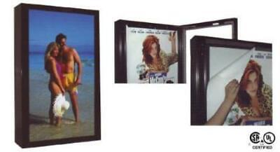 Durabrite Outdoor Lighted Sign Cabinet 2-sided