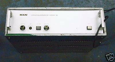 Kln Ultraschallengenerator System 582 Test Equipment Pzf