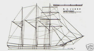 M A JAMES SAILBOAT Model Boat Ship 5 Plans MacGregor