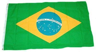 Fahne / Flagge Brasilien 90 x 150 cm